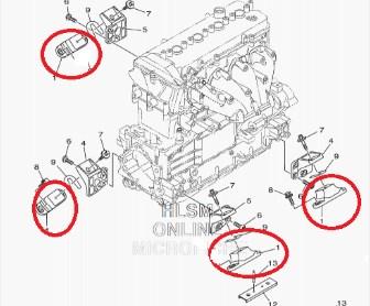 Kit Coxim Motor Jet Yamaha 800 / 1100 / 1200 / 1300 / 1800