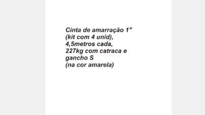 Kit Fita Amarracao Carga