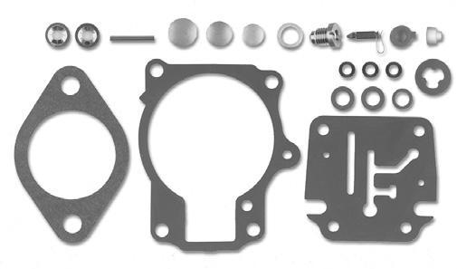 Kit Reparo Carburador Johnson / Evinrude 18 a 75 HP