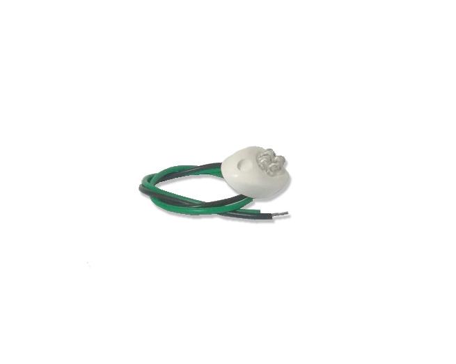 Luz Embarcação - Branco com Verde