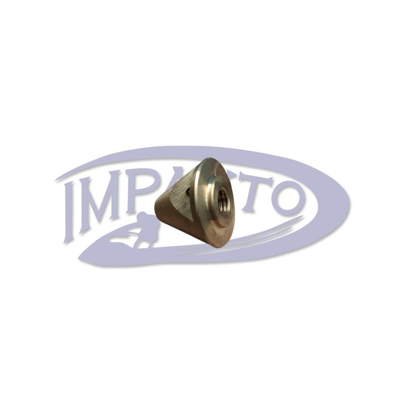 Porca Helice Motor Johnson / Evinrude 14 / 15 / 25 HP - Pinado