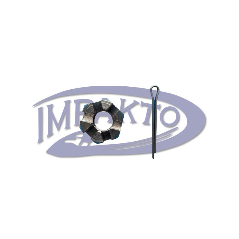 Porca Helice Motor Johnson / Evinrude 9.9 / 15 HP