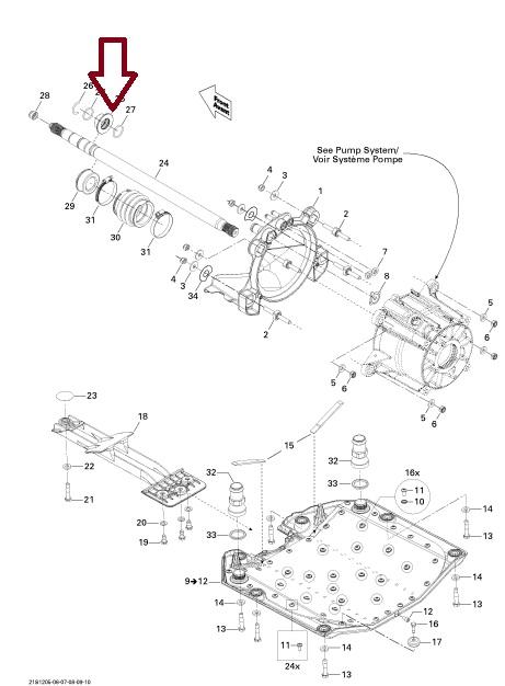 Suporte Anel Carbono Jet Sea GTX / RXT / RXP / GTR