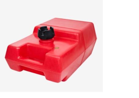 Tanque Gasolina 12 Litros Vertical - Vermelho