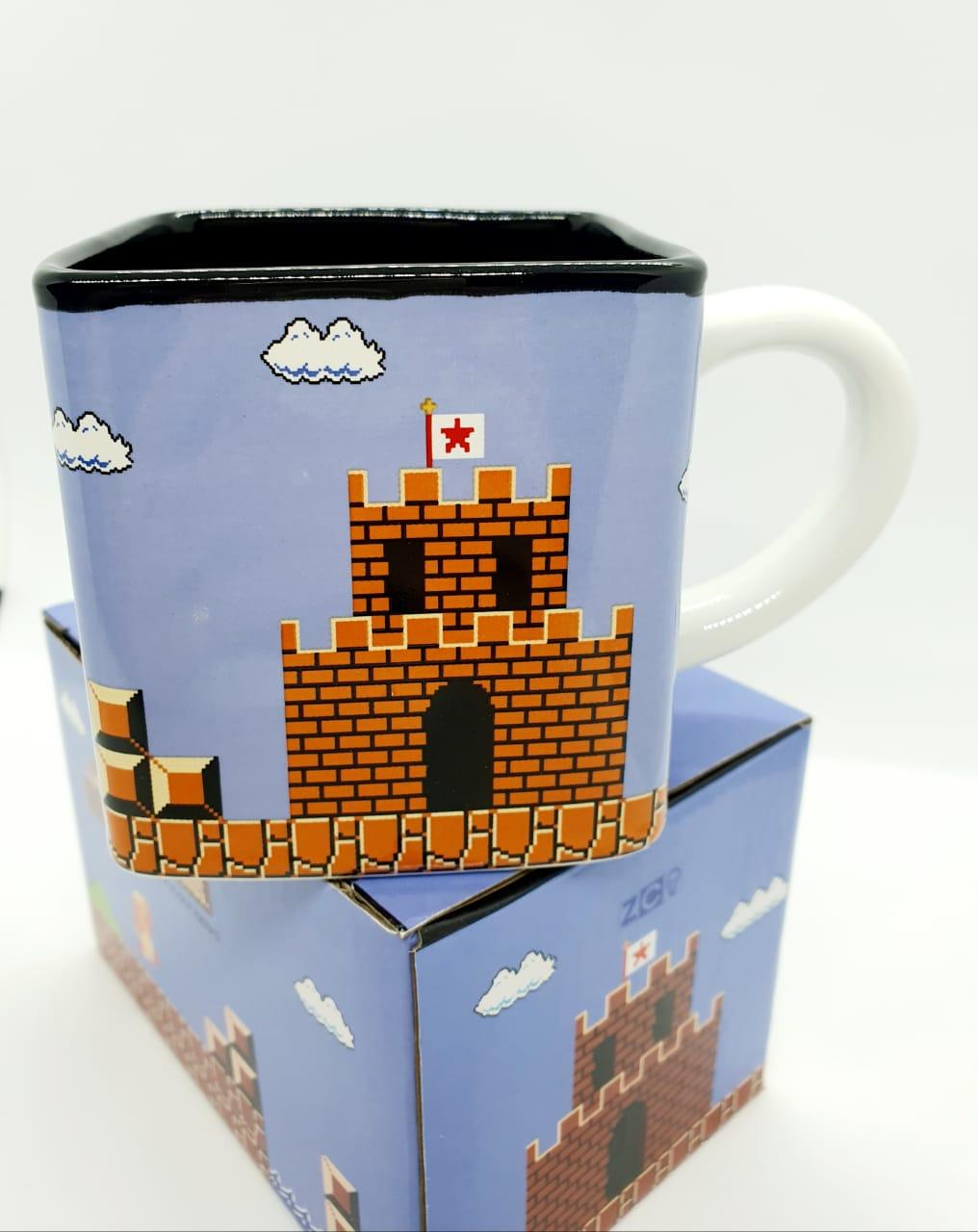 Caneca cubo 300ml - Super Mario Bros