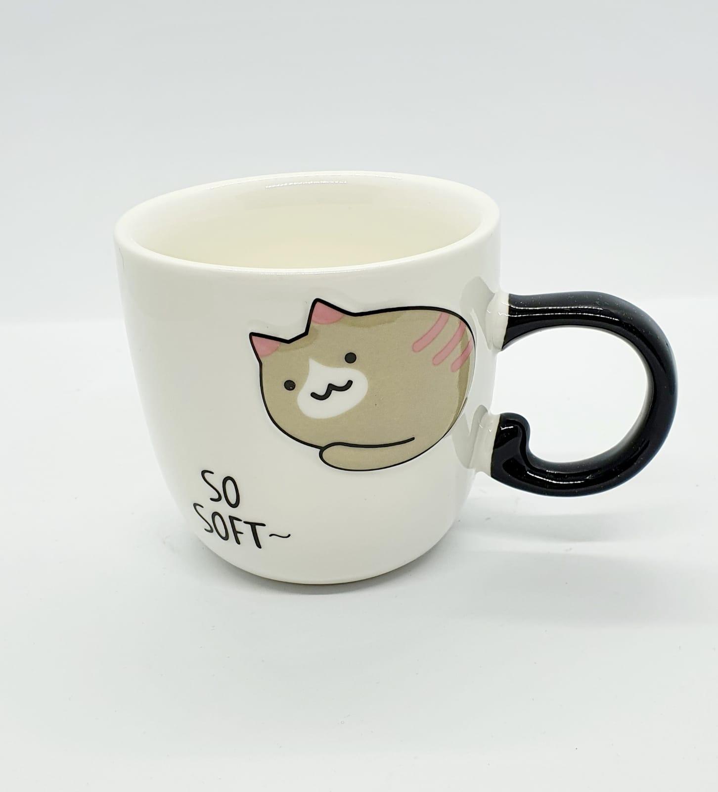 Caneca/Vaso gatinho So Soft em cerâmica - 200ml