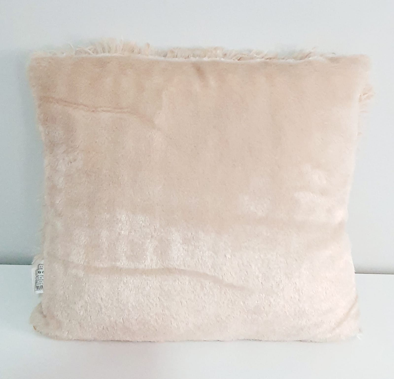 Capa para almofada - pelinhos nude