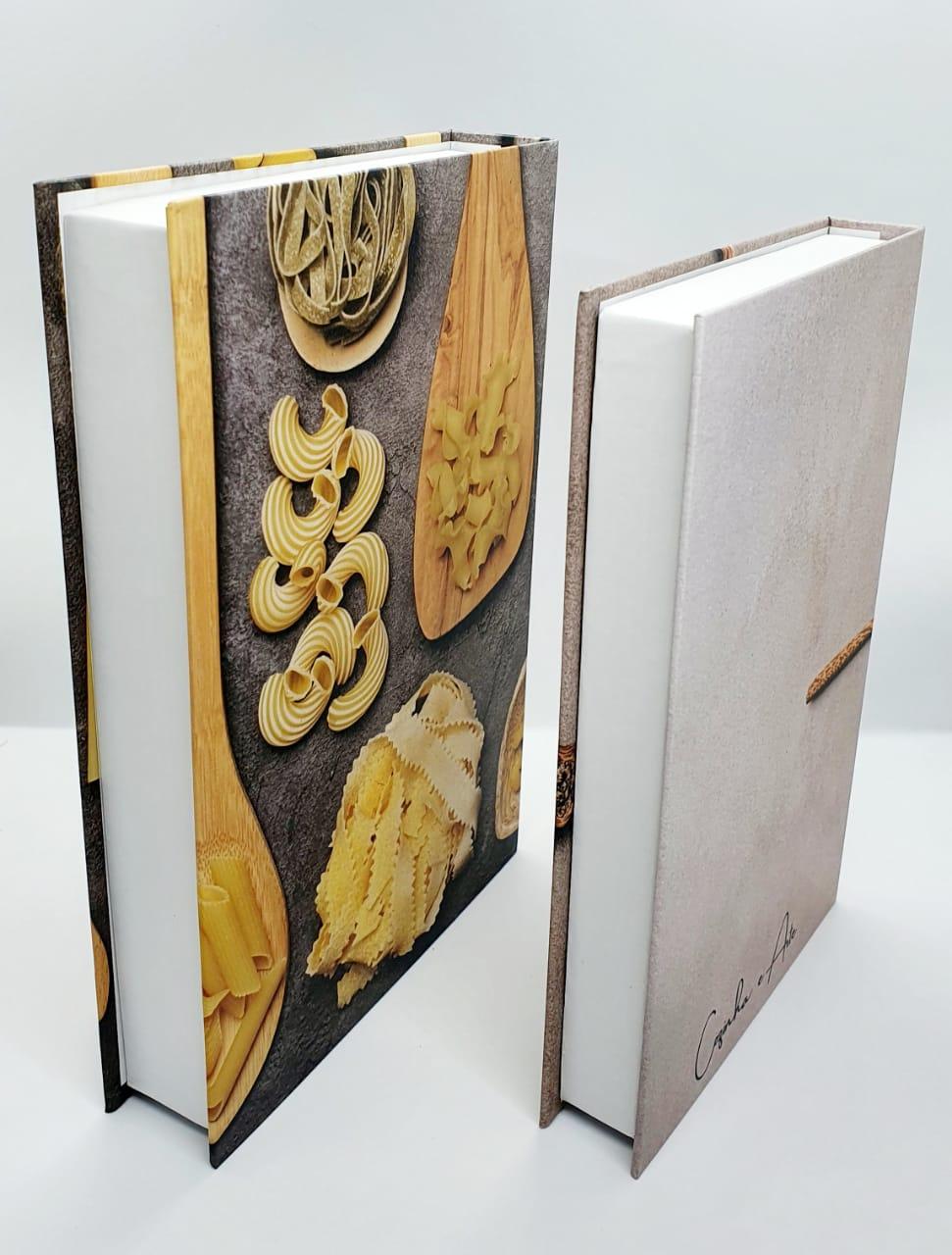 Conjunto caixa decorativa - 2 peças