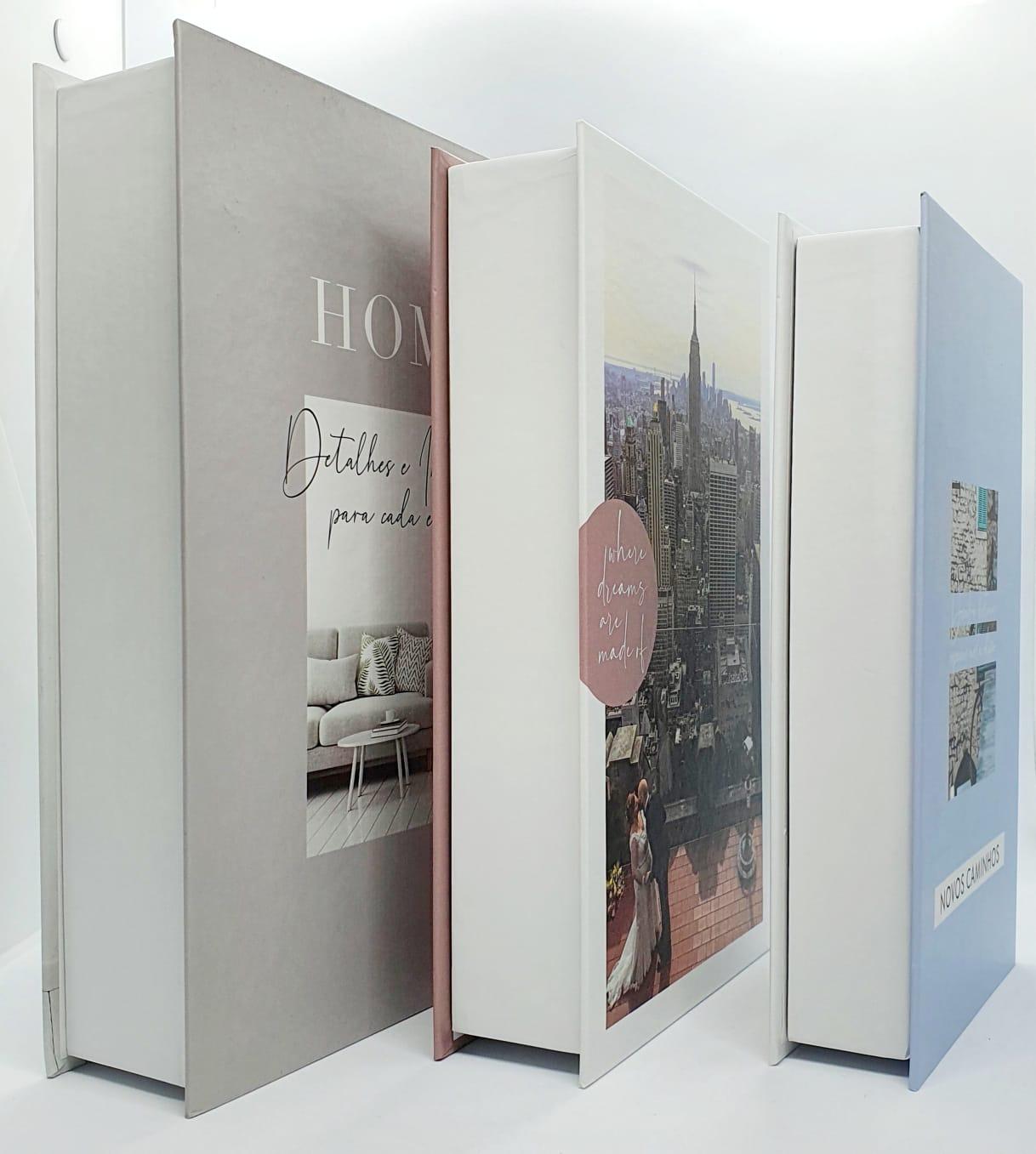 Conjunto caixa decorativa - HOME - 3 peças