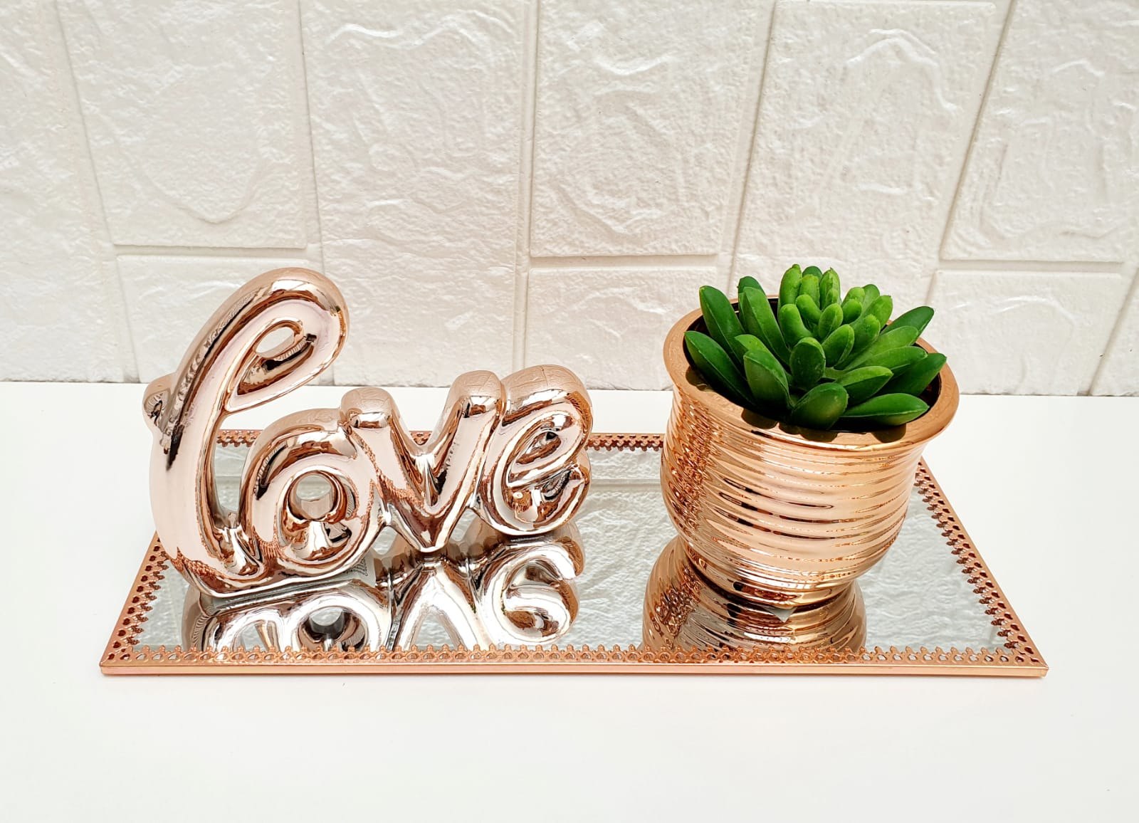Conjunto Decorativo Love - 4 peças