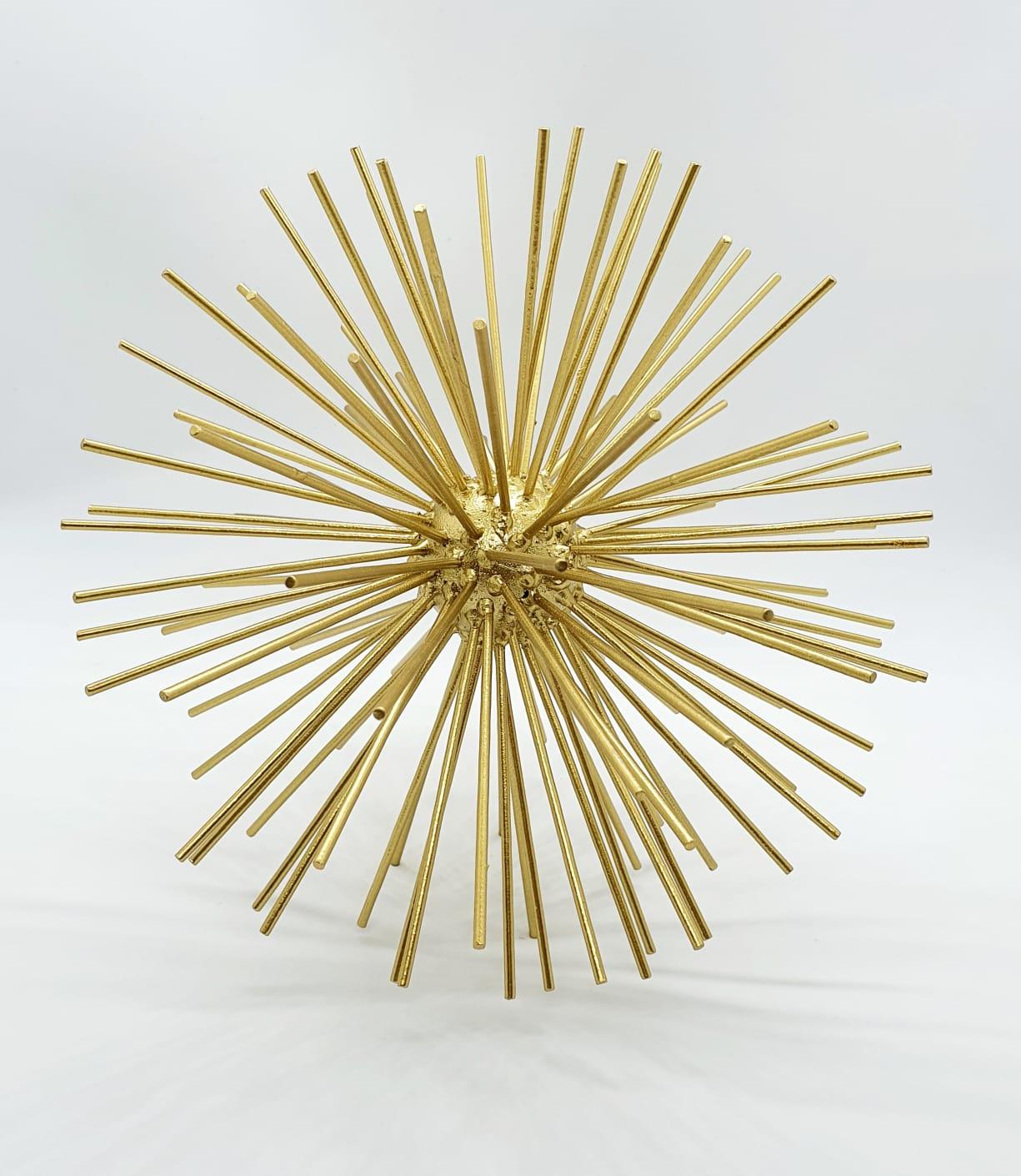 Escultura Ouriço em metal