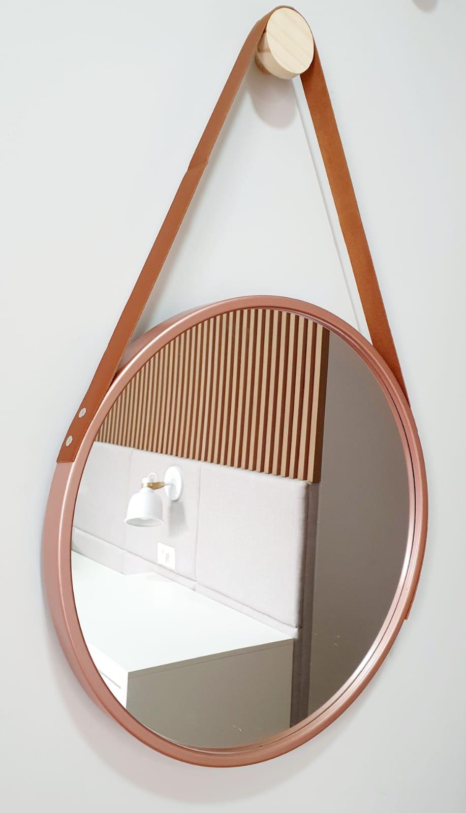 Espelho ADENET redondo 45cm