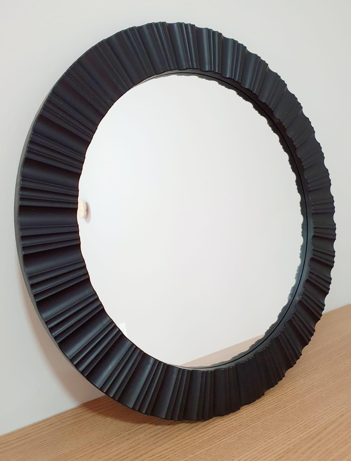 Espelho Canelado redondo 47cm