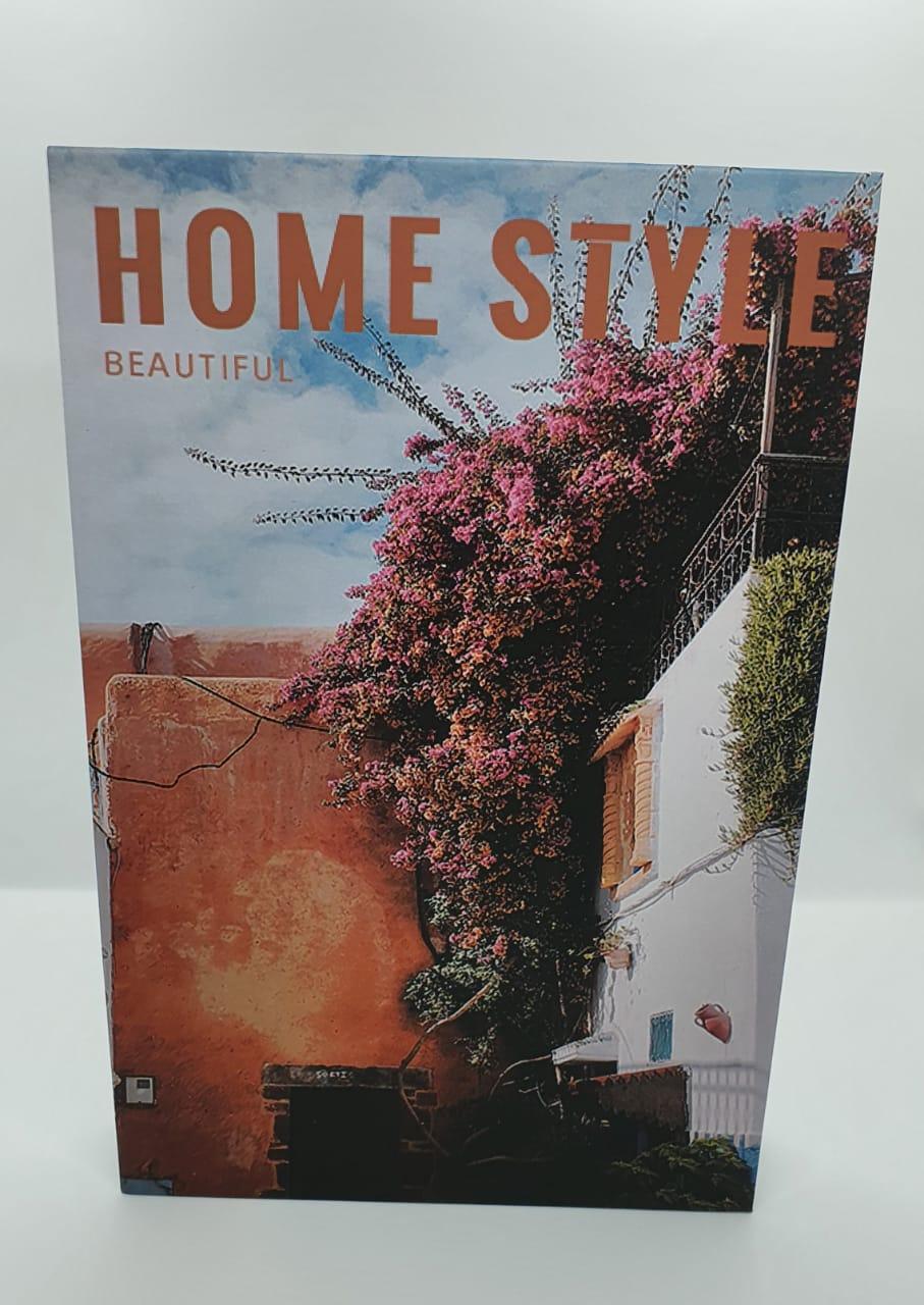 Livro de papel decorativo - Home Style