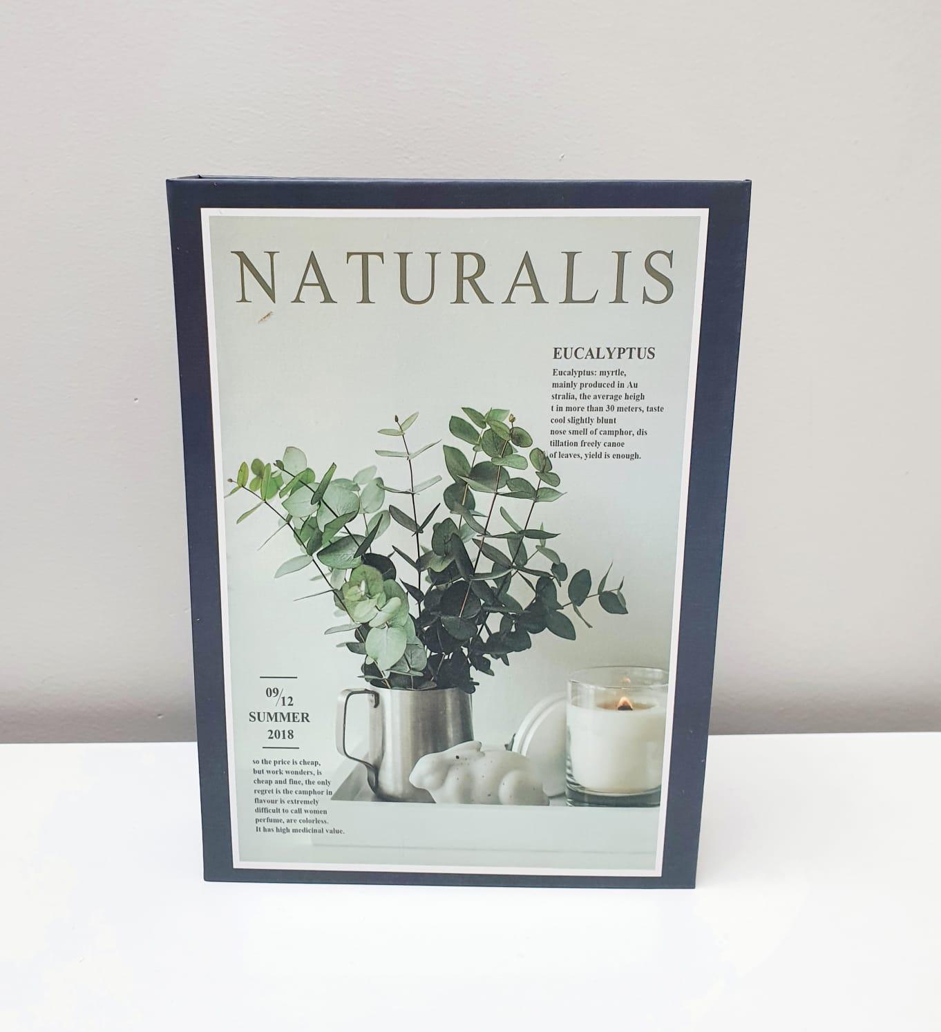 Livro de papel decorativo - Naturalis