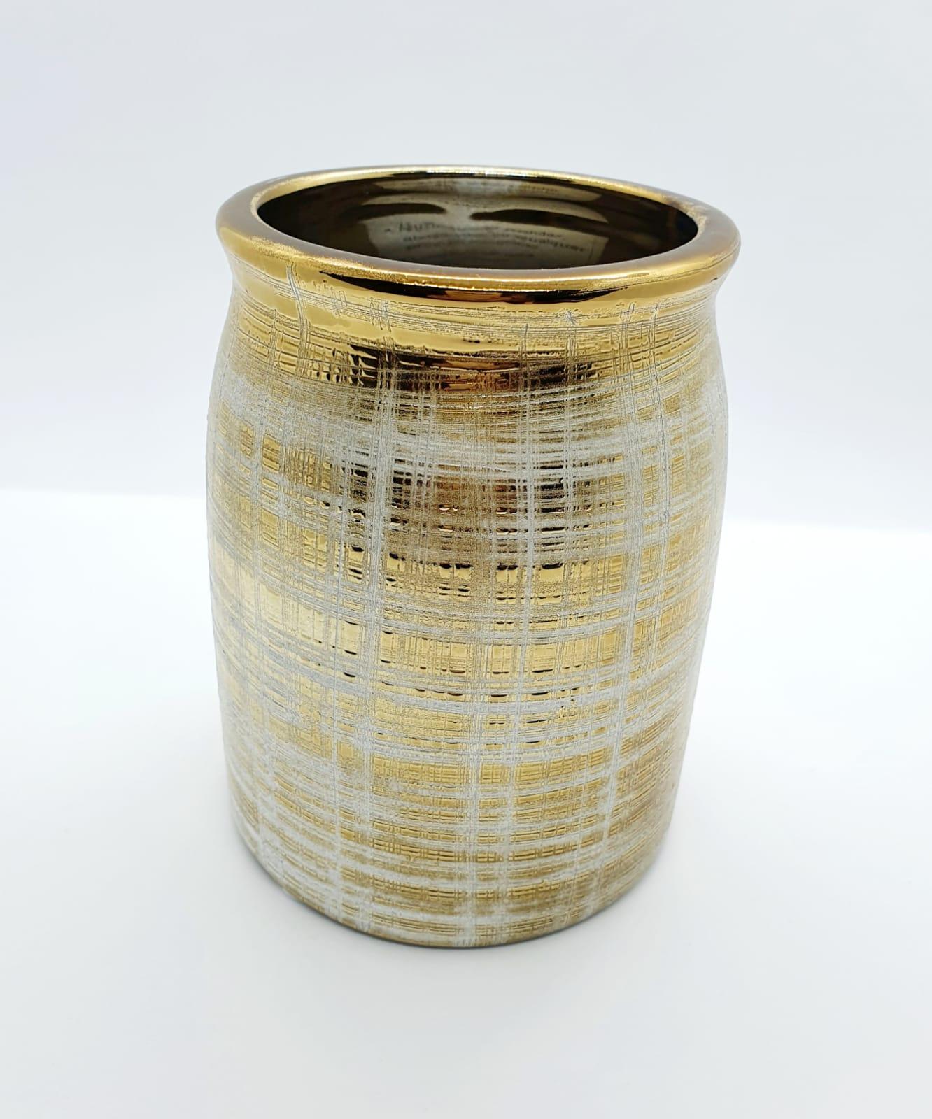Vaso Elorium em cerâmica