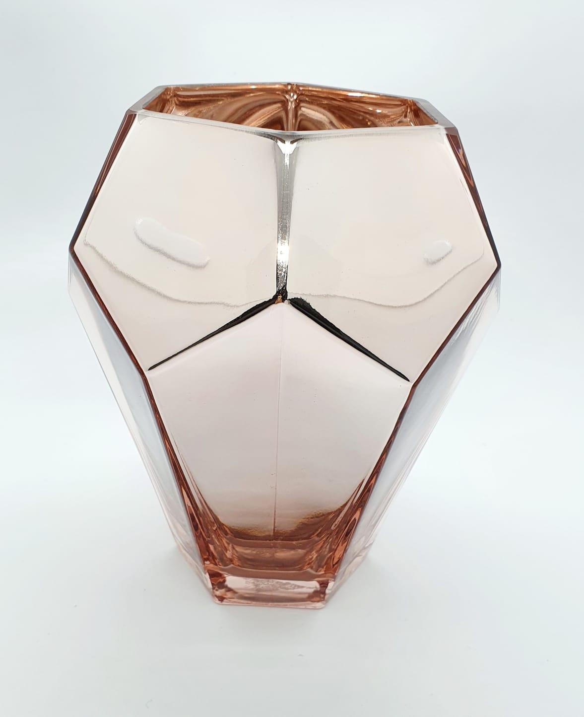 Vaso Império em vidro