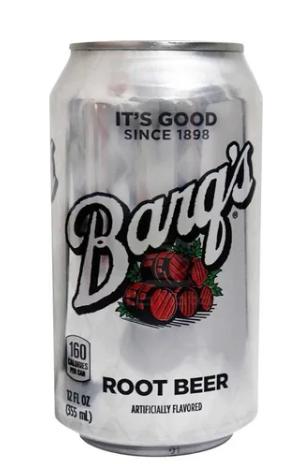 REFRIGERANTE BARQ' S ROOT BEER 355ML