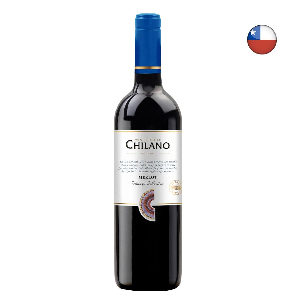 VINHO CHILANO MERLOT 750ml