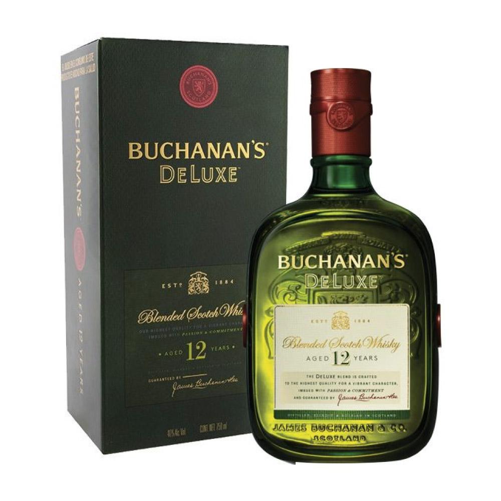 WHISKY BUCHANAN'S 12 ANOS 1Litro