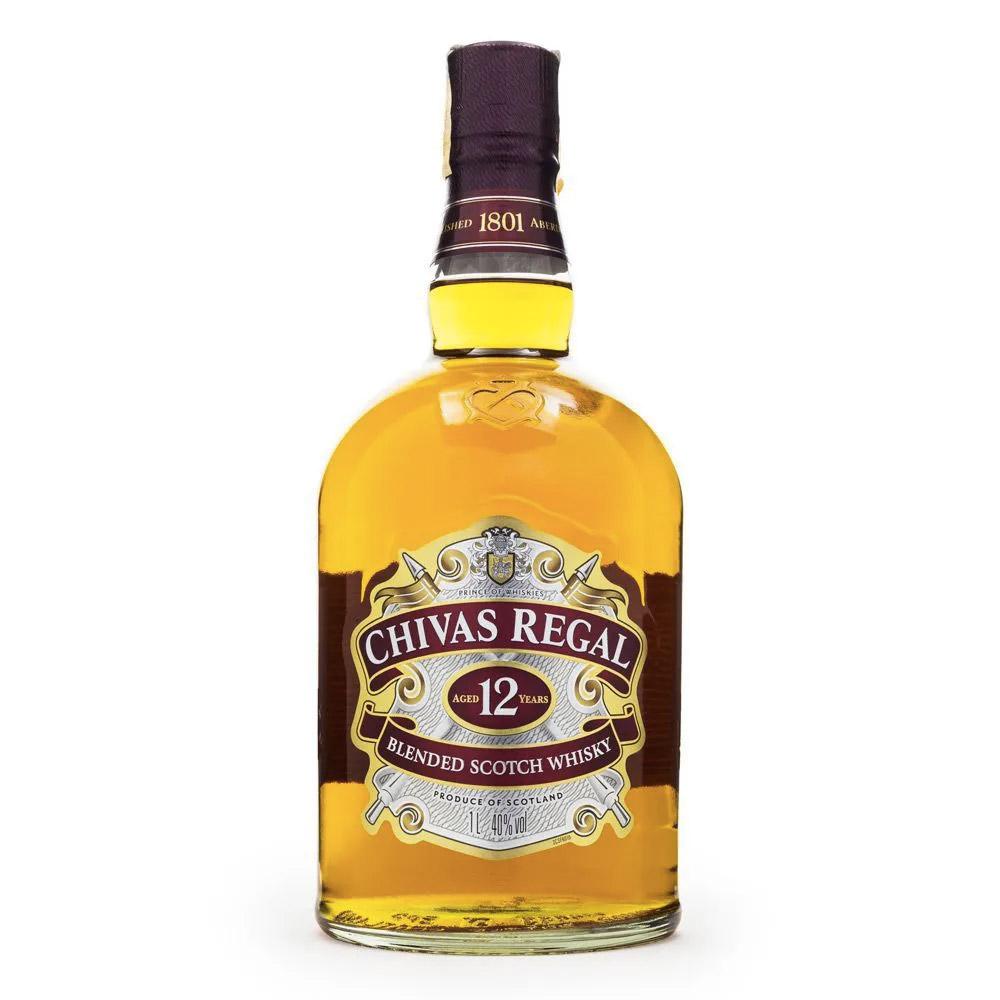 WHISKY CHIVAS REGAL 12 ANOS 1Litro