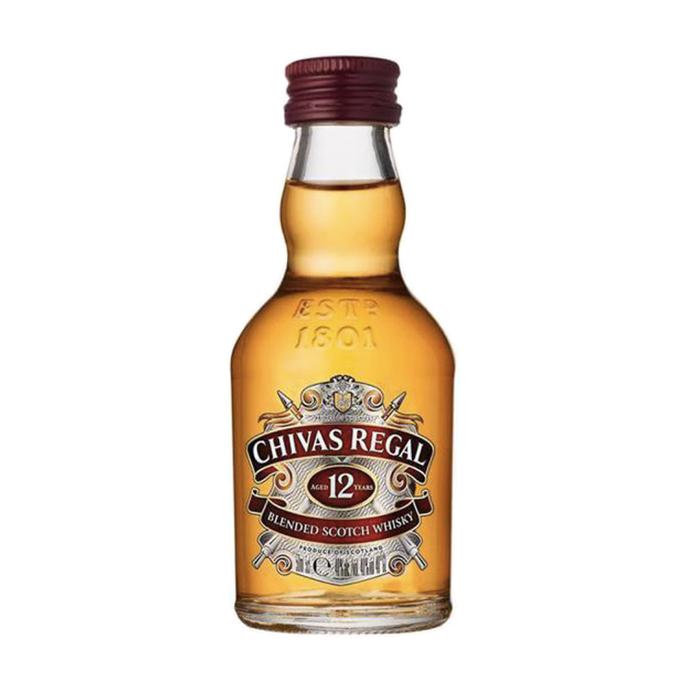 WHISKY CHIVAS REGAL 12 ANOS 50ml
