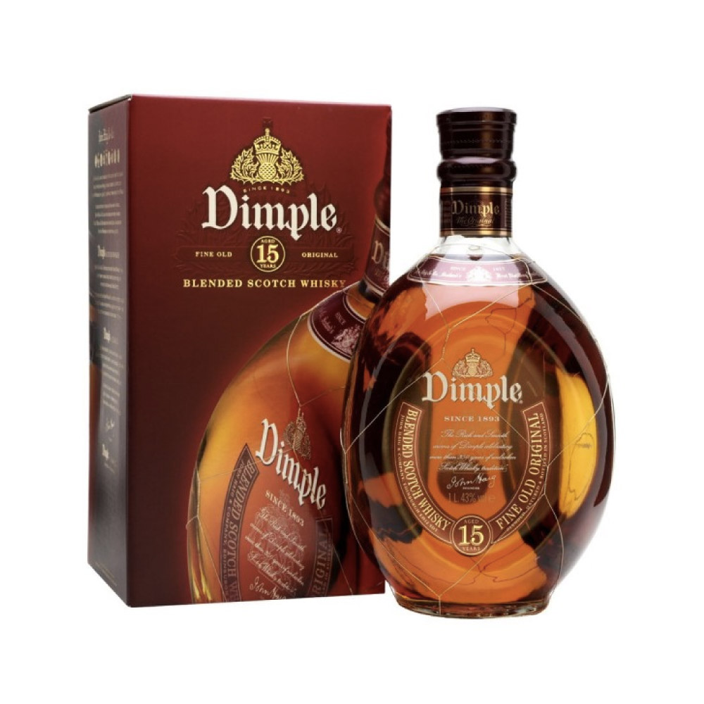 WHISKY DIMPLE 1Litro