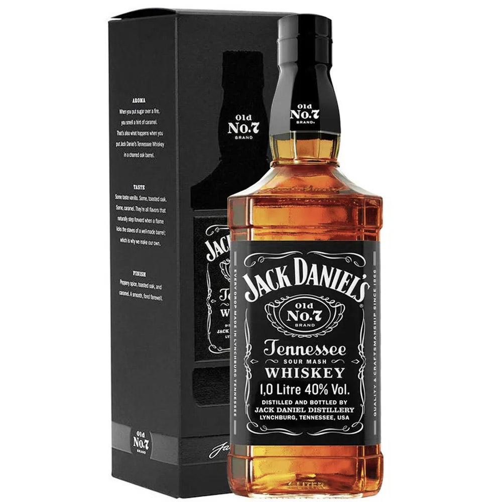 WHISKY JACK DANIEL'S OLD Nº 7 - 1Litro