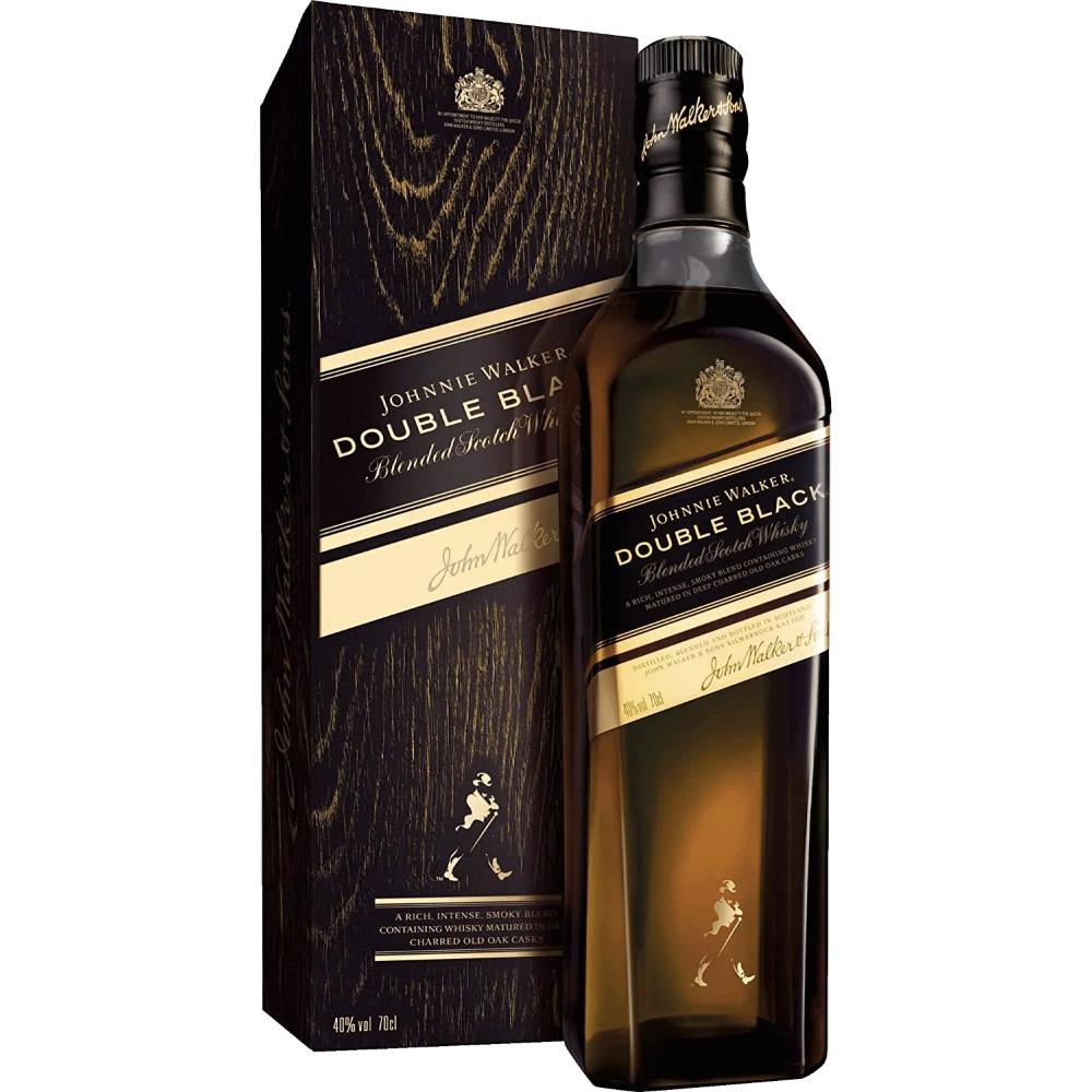 WHISKY JOHNNIE WALKER DOUBLE BLACK 1Litro