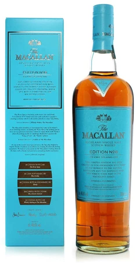 WHISKY THE MACALLAN 6 EDITION 700ml