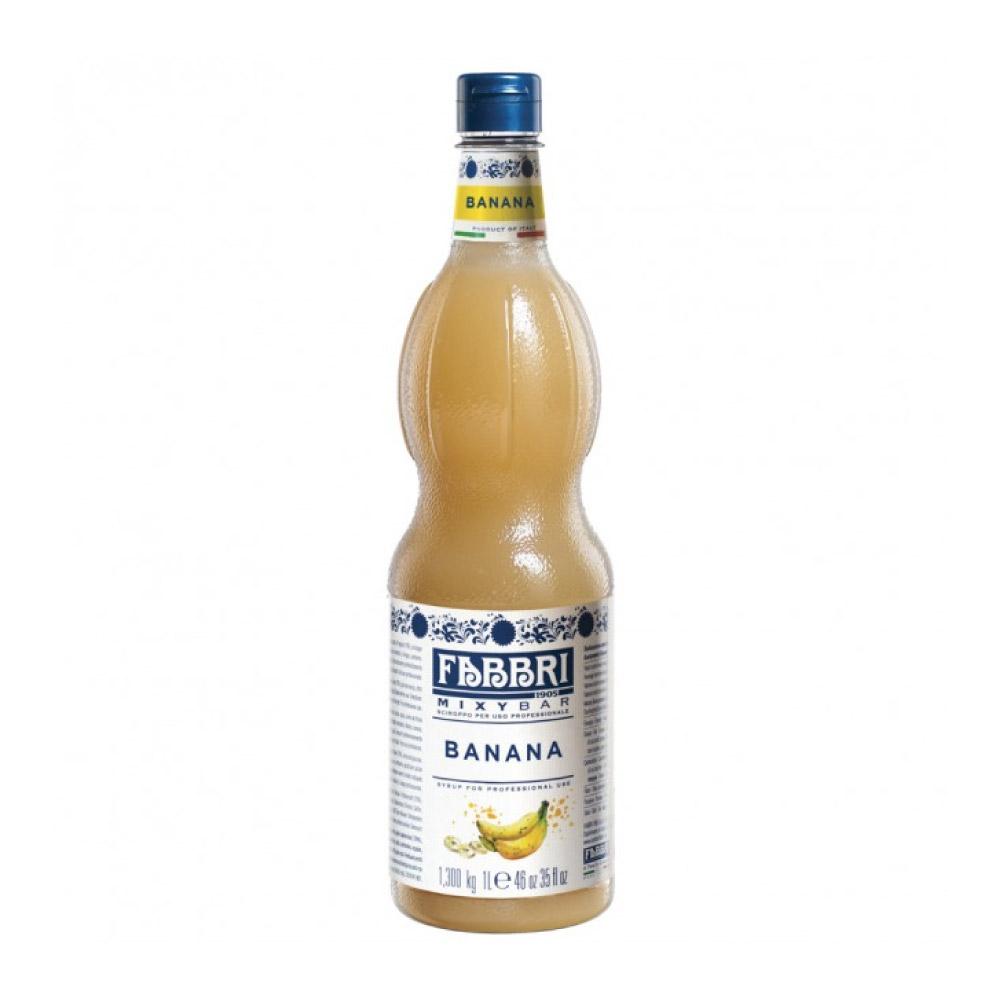 XAROPE DE BANANA FABBRI 1Litro