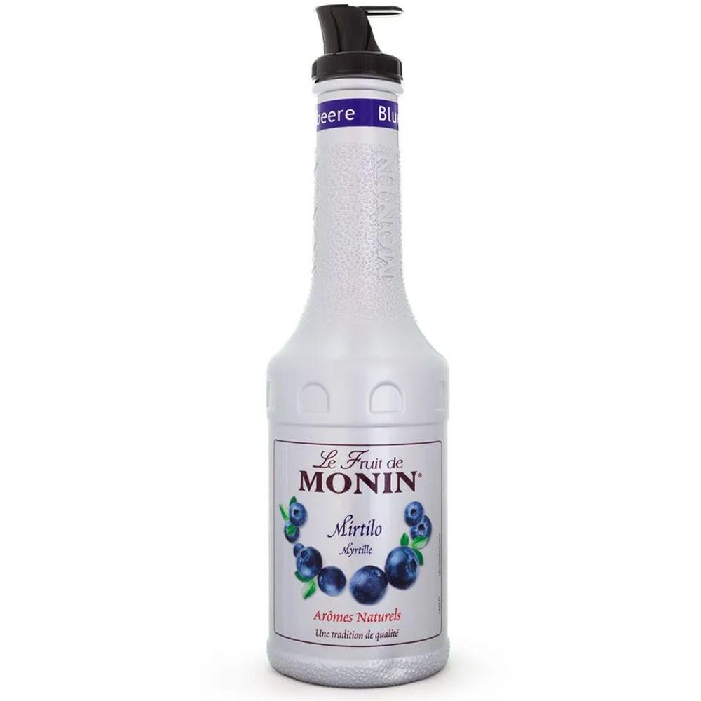 XAROPE DE MIRTILO BLUEBERRY (PURE DE FRUTA) MONIN 1Litro