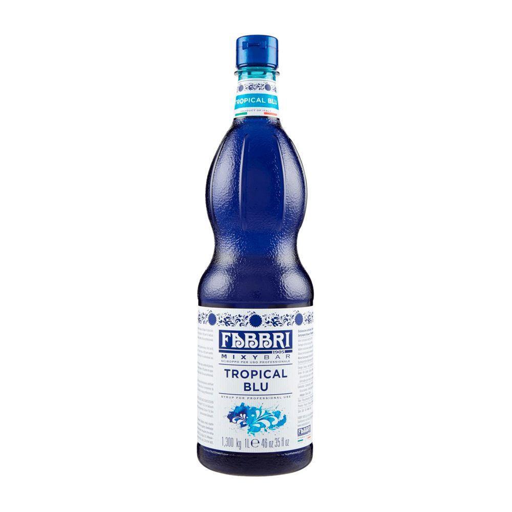 XAROPE DE TROPICAL BLUE FABBRI 1Litro