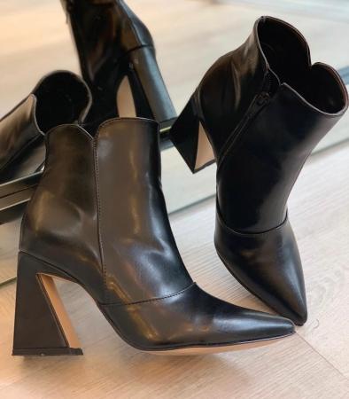 Bota Ankle Boot Preta