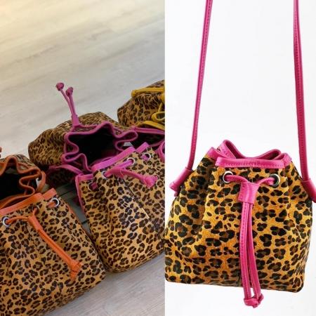 Bucket Bag Animal Print