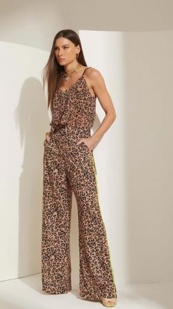 Pantalona Lime Leopardo