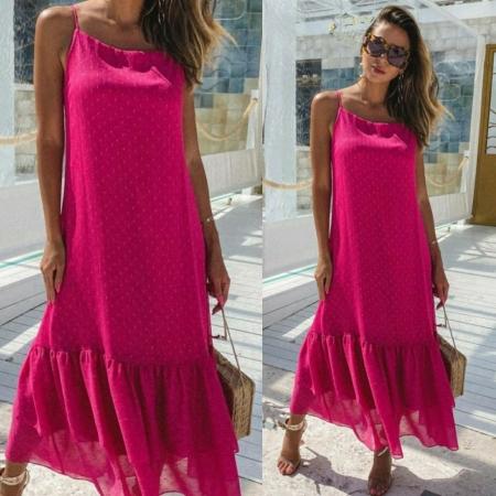 Vestido Helena Pink