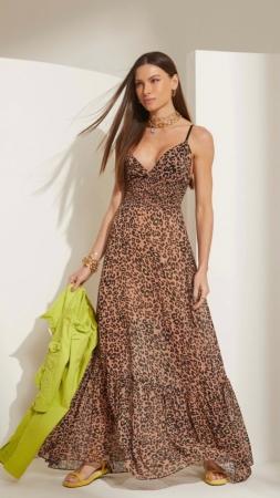 Vestido Lime Leopardo