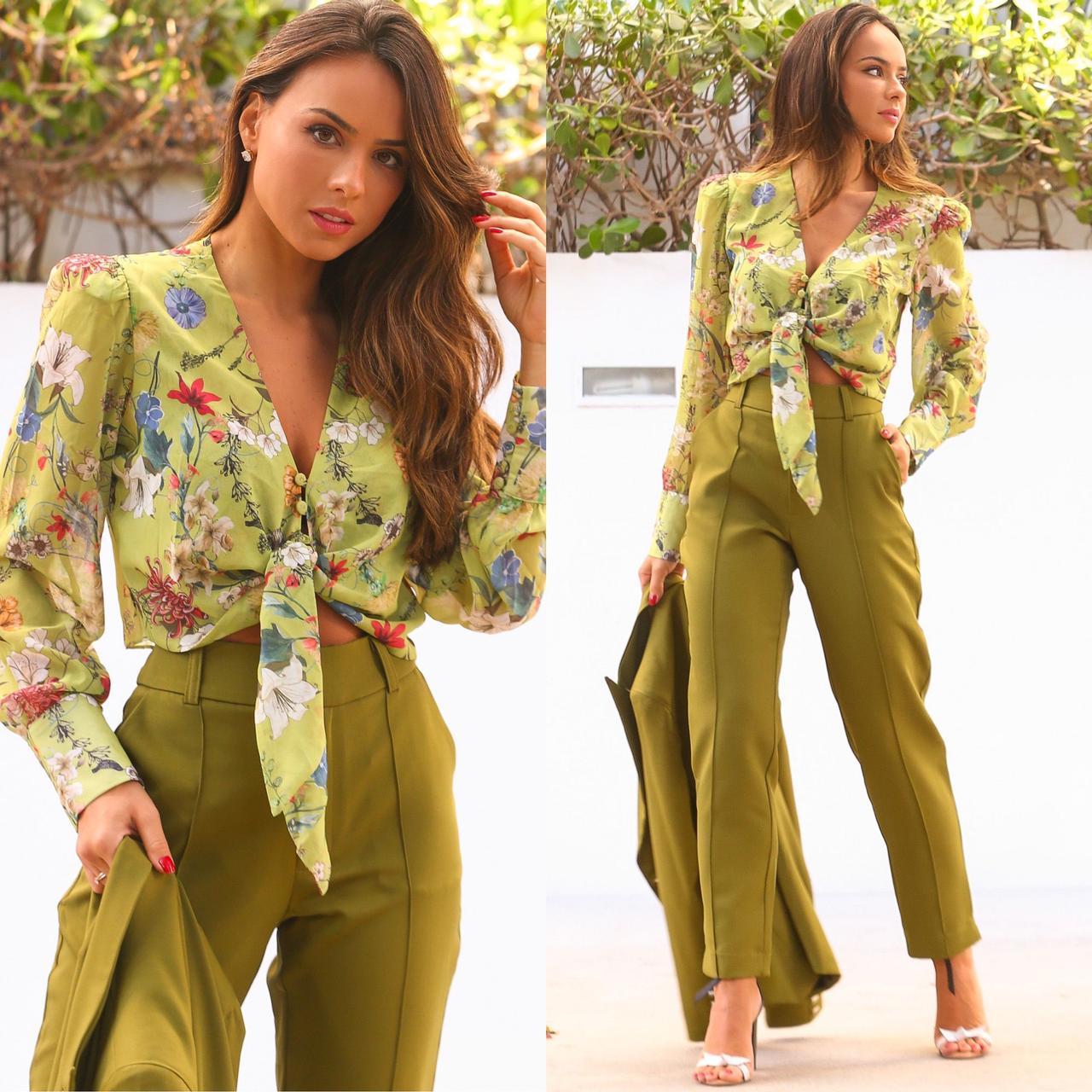 Blusa Estampada Floral