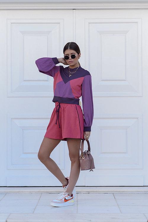 Blusa Tricolor