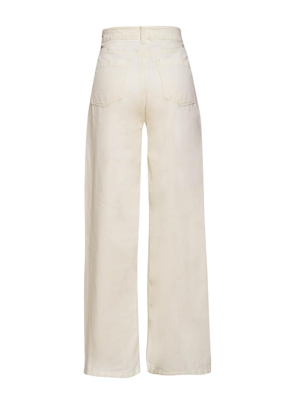 Calça Pantalona Sarja