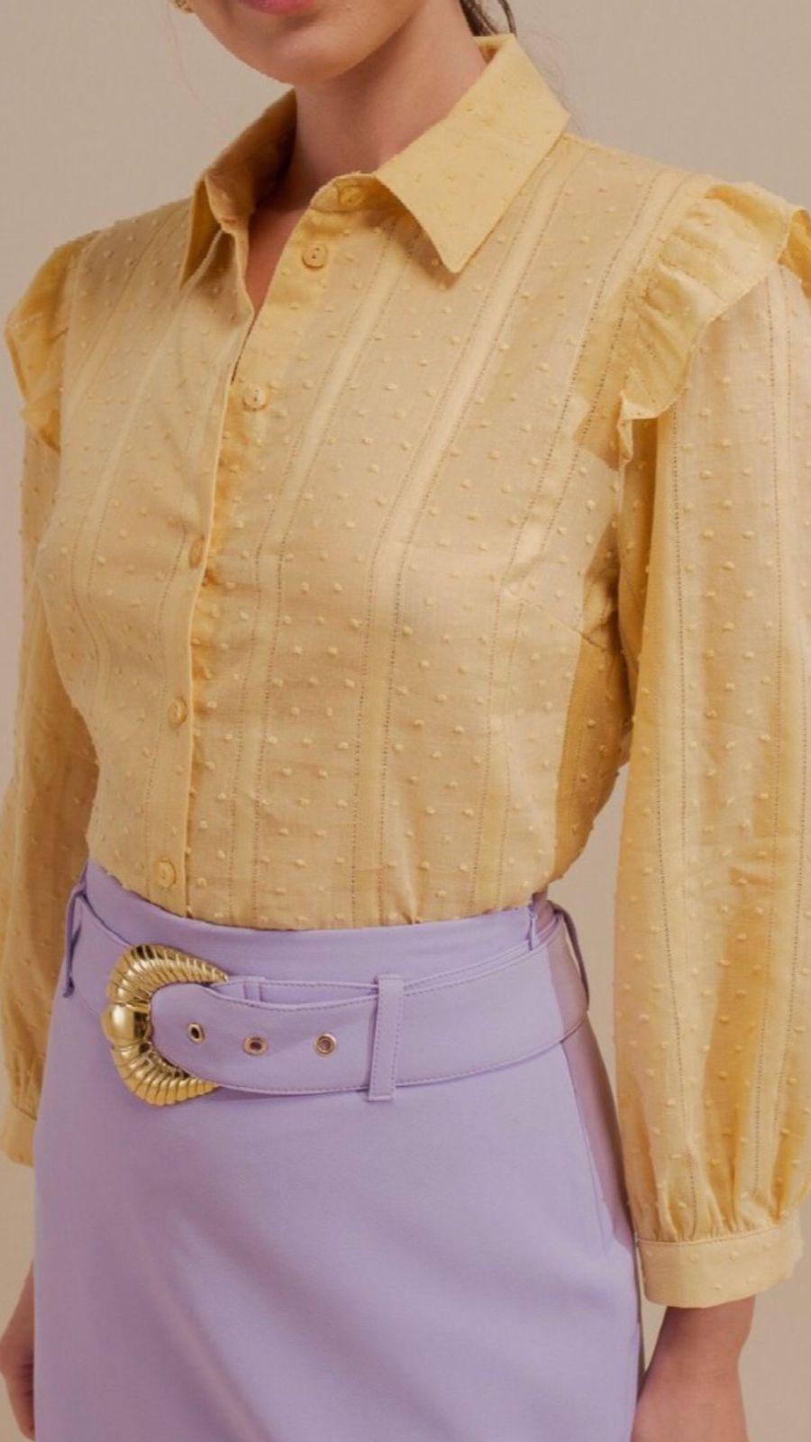 Camisa Algodão Textura