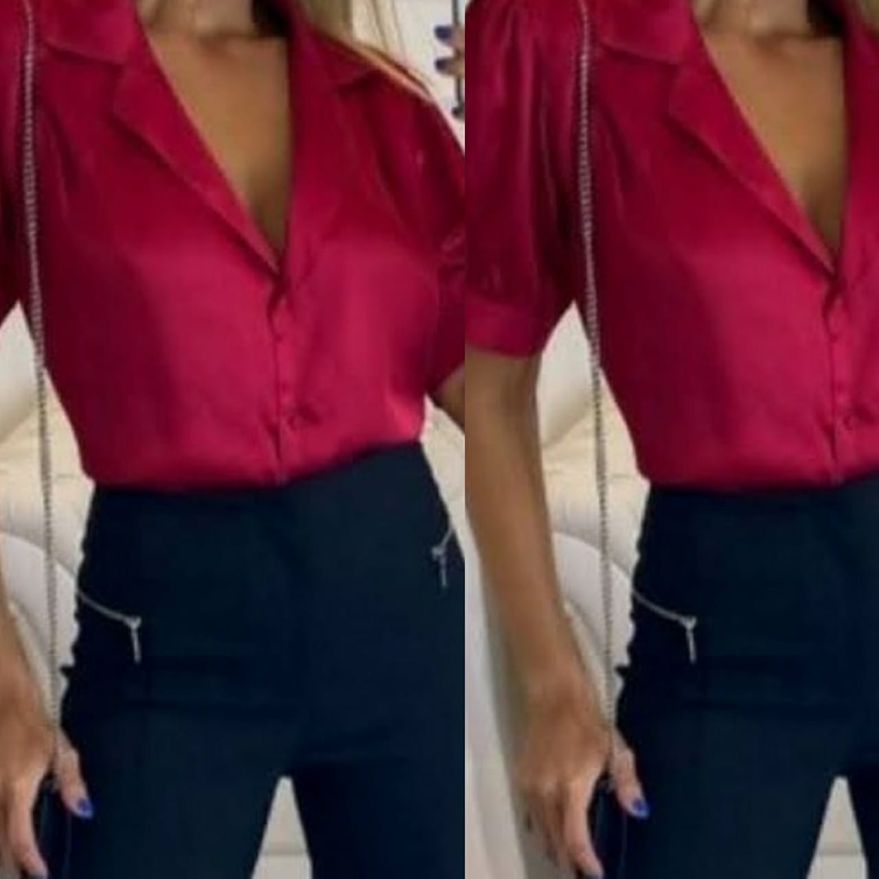 Camisa Cropped Ruby