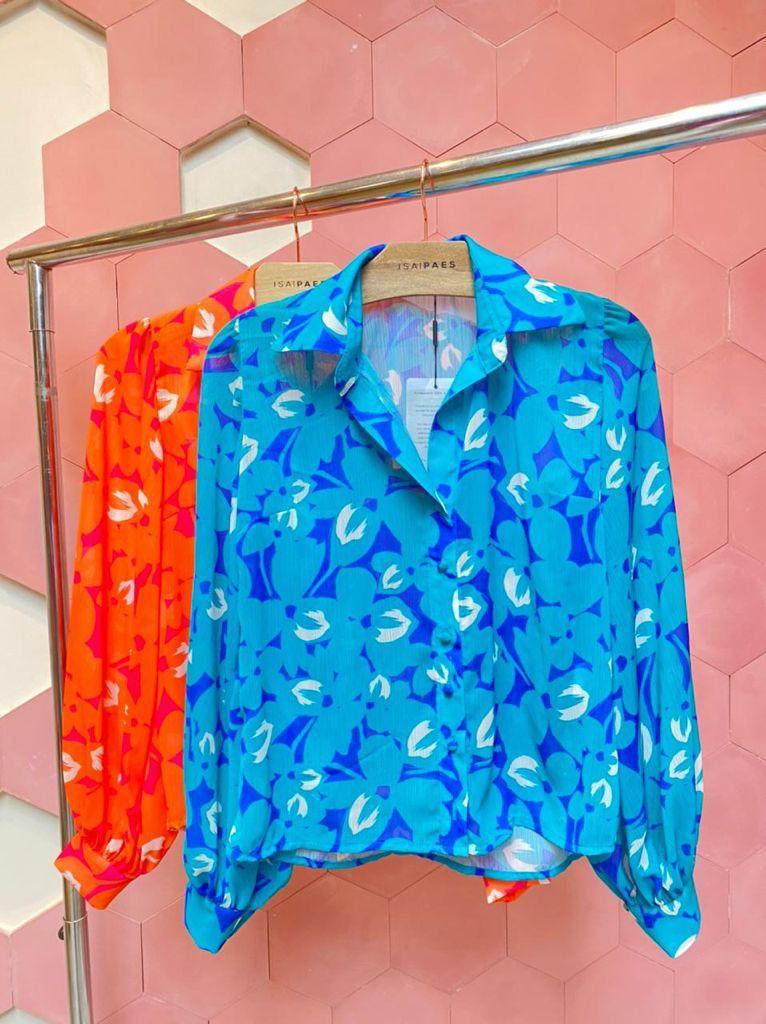 Camisa Flower Color