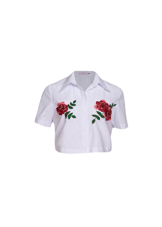 Camisa Flowers