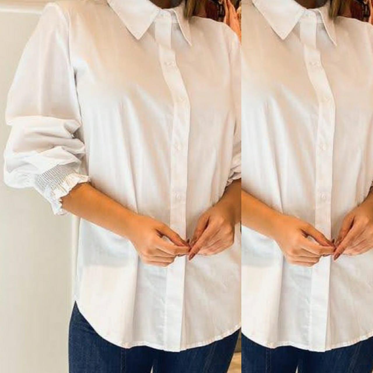 Camisa Punho Lastex