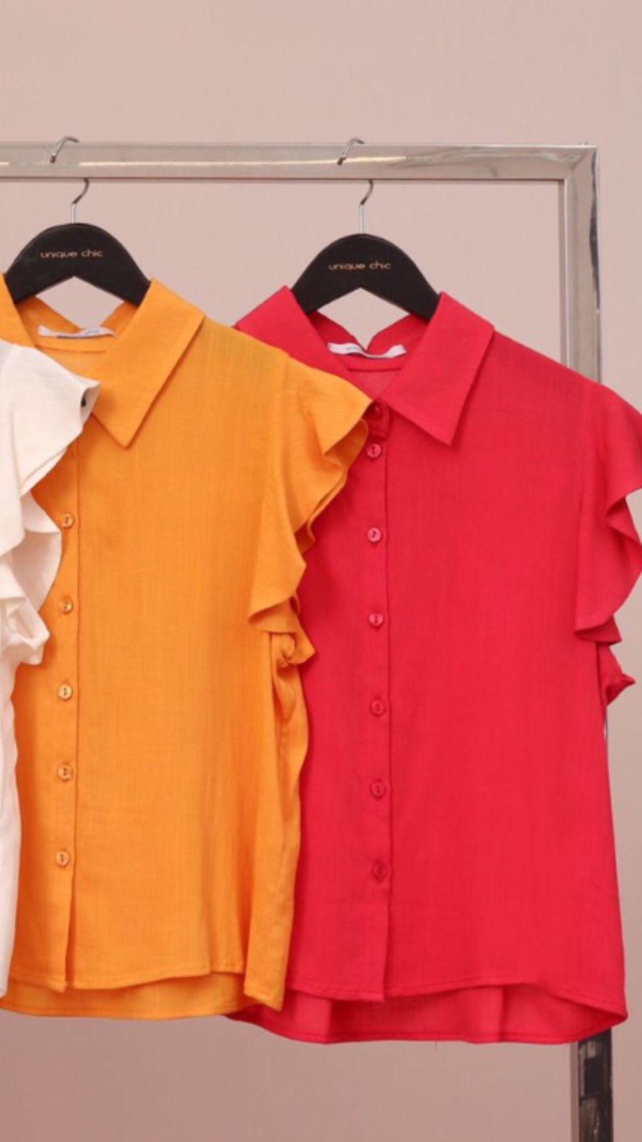 Camisa Viscose Textura
