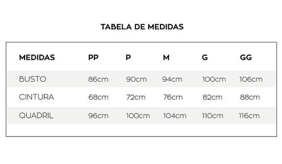 Conjunto Tricolor Linho