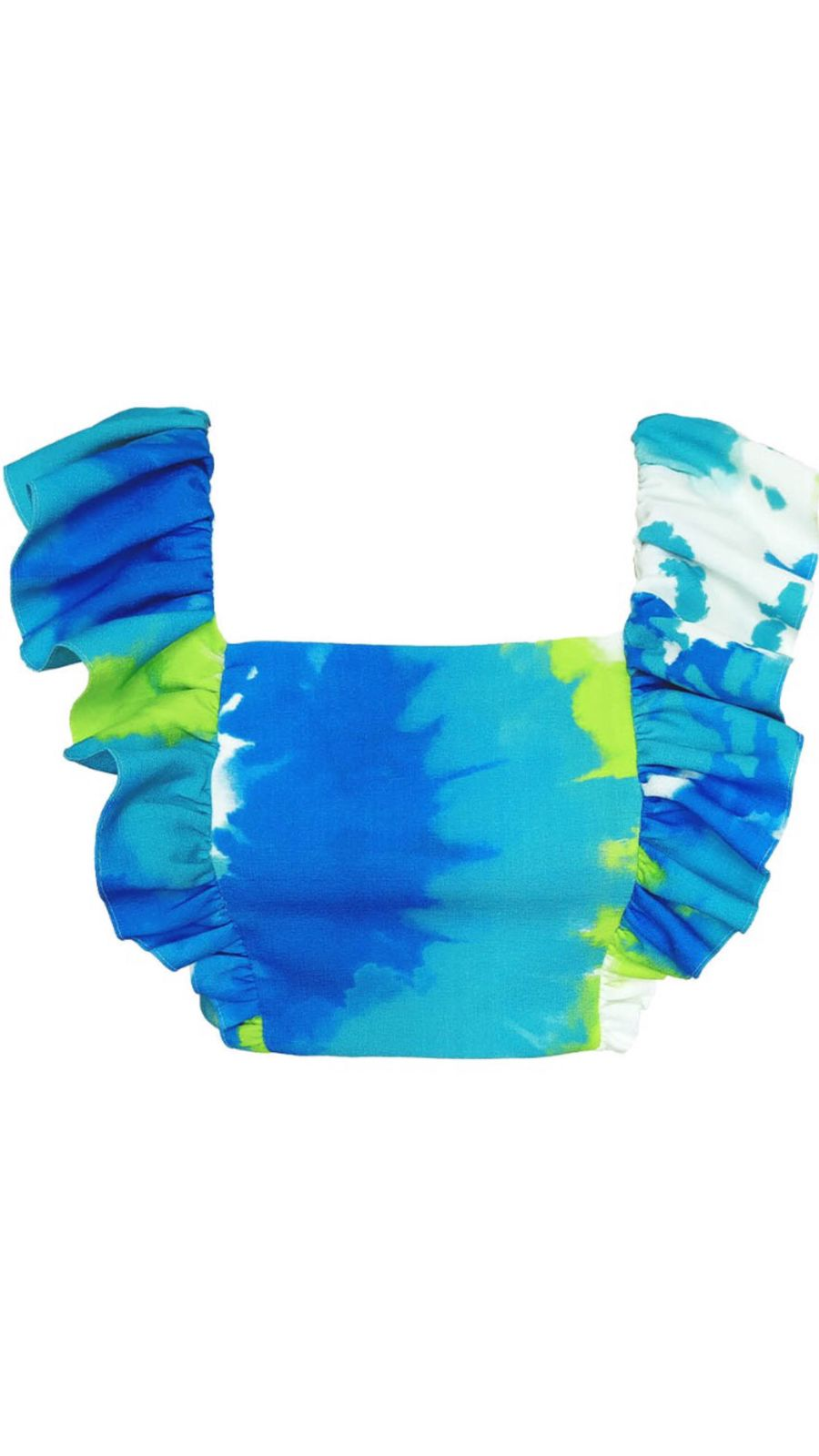 Cropped Tie Dye