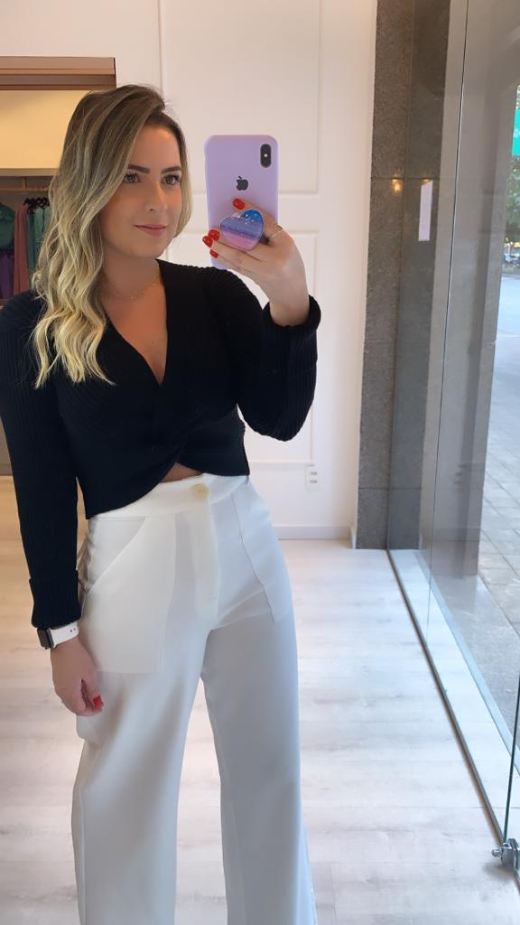 Cropped Tricot Dec Torcido